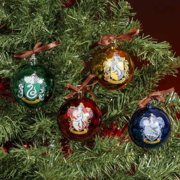 Boules de Noël Harry Potter