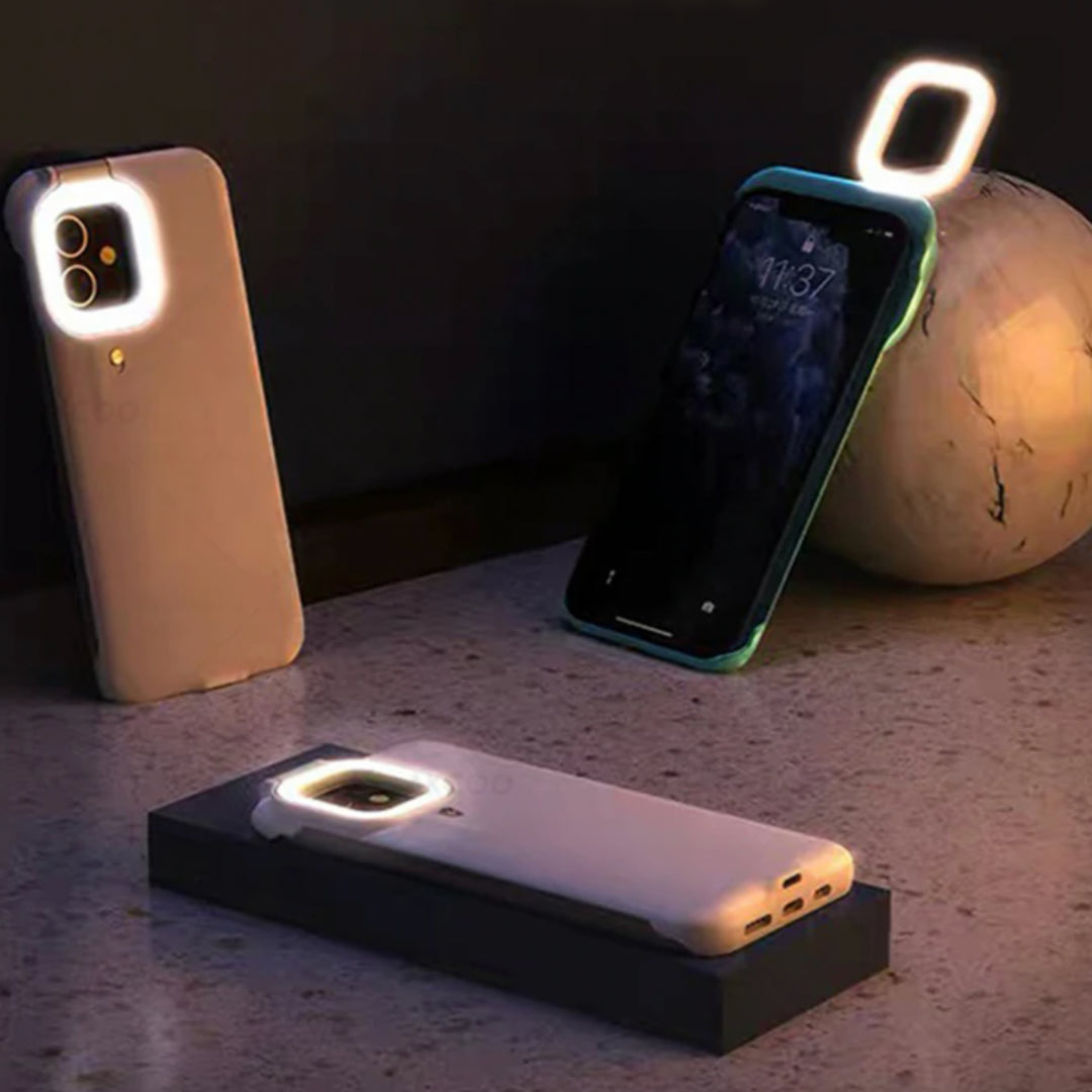 Coque Ring Light pour iPhone