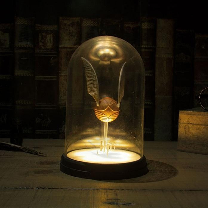 Lampe vif d'or Harry Potter