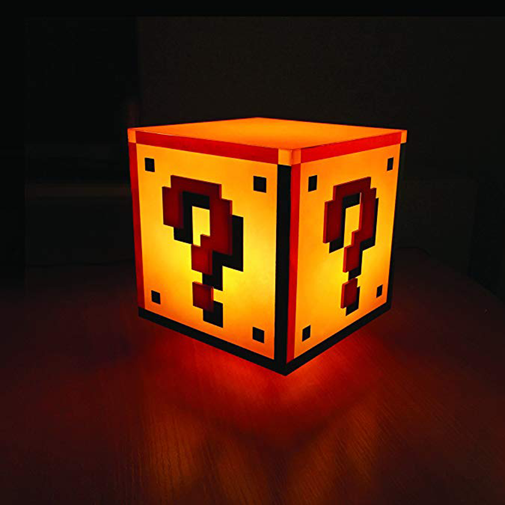 "Lampe Super Mario ""Question Block"""