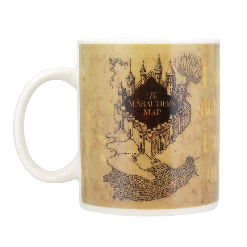 Mug thermoréactif carte du maraudeur Harry Potter