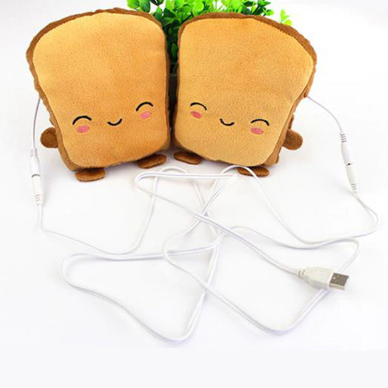 Chauffe-mains toasts USB