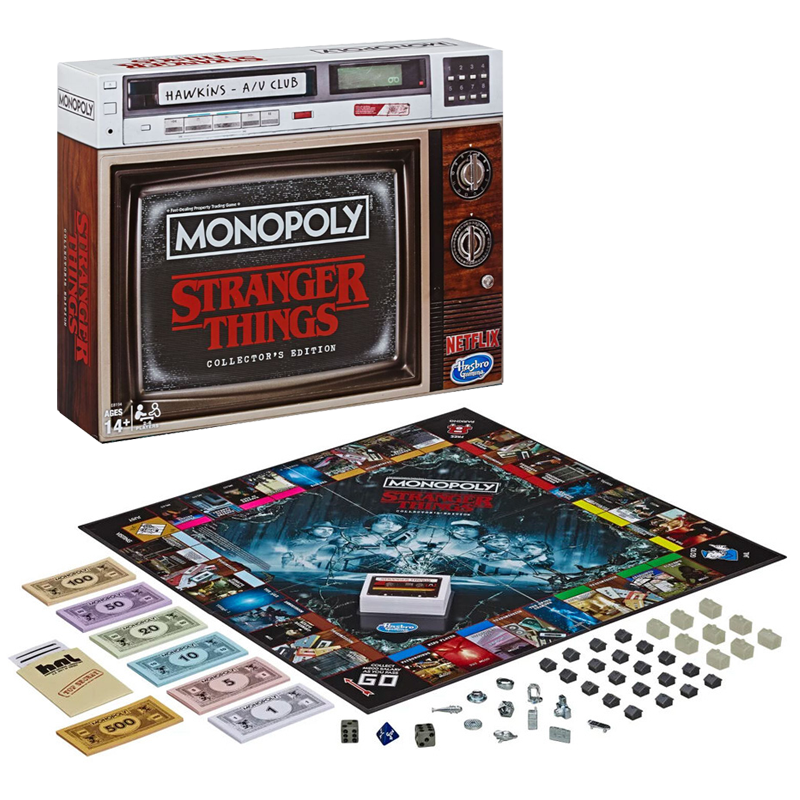 Monopoly Stranger Things Edition Collector