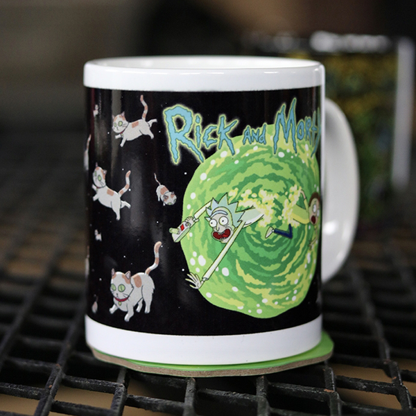 Mug Rick, Morty et les chats - Melty Stores