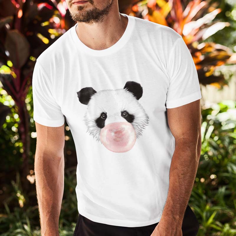T-shirt Bubble Gum Panda