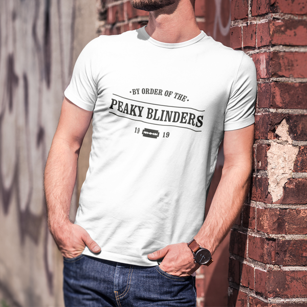 "T-shirt ""By order of the Peaky Blinders"" - Melty Stores"