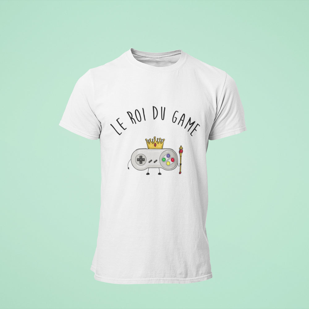 "T-shirt ""Le Roi du Game"""