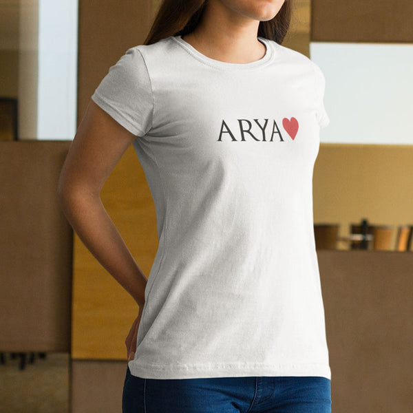 T-shirt GOT Arya - H/F