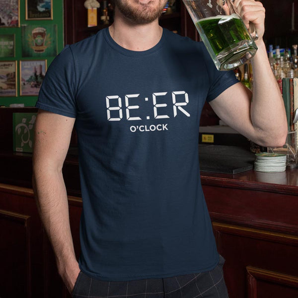 "T-shirt ""Beer O'clock"""