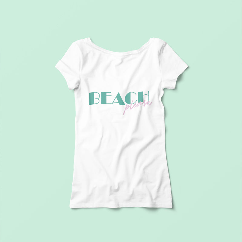 "T-shirt ""Beach please"""