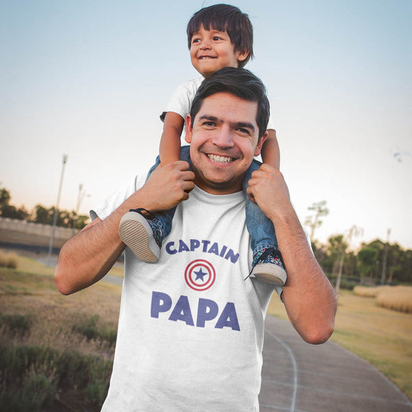 "T-shirt ""Captain Papa"""