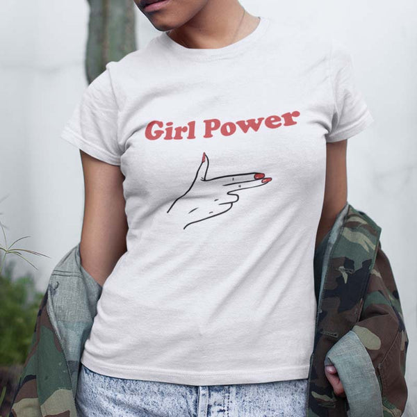 "T-shirt ""Girl Power"" - Melty Stores"