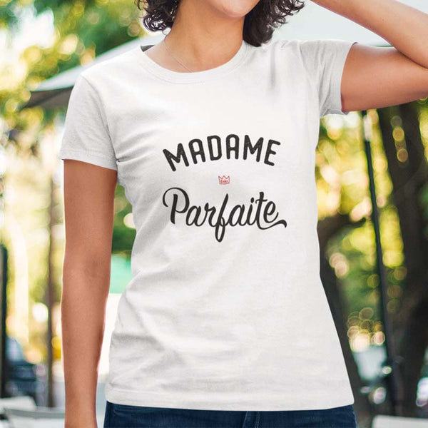 "T-shirt ""Madame Parfaite"" - Melty Stores"