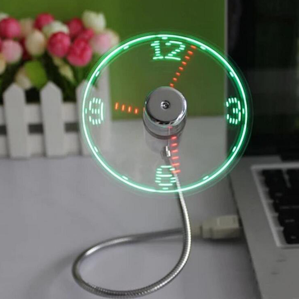 Ventilateur Horloge USB - Melty Stores
