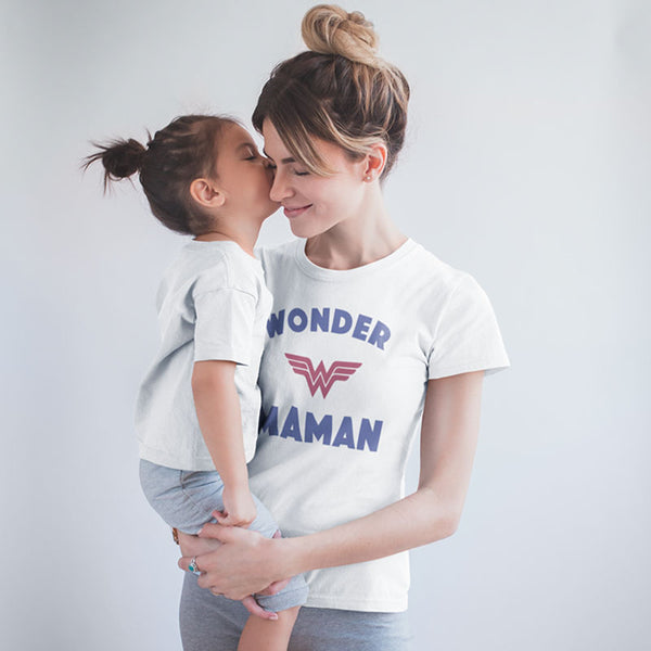 "T-shirt ""Wonder Maman"" - Melty Stores"