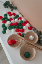 Load image into Gallery viewer, Christmas Meringue Loose Parts Sorting Set