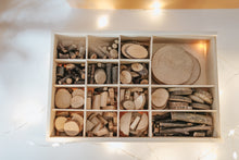 Load image into Gallery viewer, Wood & Sticks Loose Parts Mandala Kit