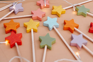 *Back In Stock* Starry Wands - Rainbow Pastel