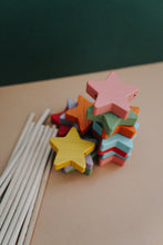 Load image into Gallery viewer, *Back In Stock* Starry Wands - Rainbow Pastel