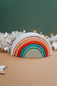 *Christmas Exclusive* Sunset Rainbow Stacker