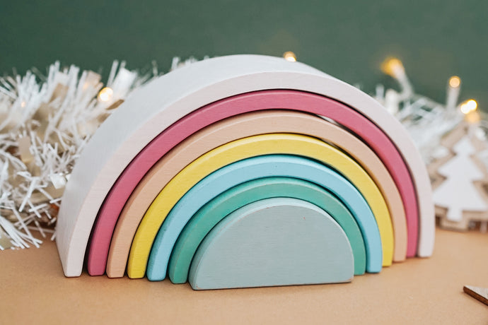 *Christmas Exclusive* Pastel Rainbow Stacker