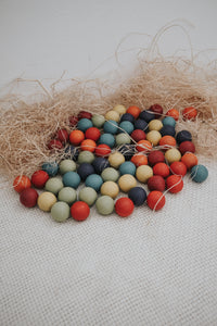 *Christmas Exclusive* Wooden Marble Balls