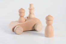 Load image into Gallery viewer, Wooden Cars & Pegs Painting Kit