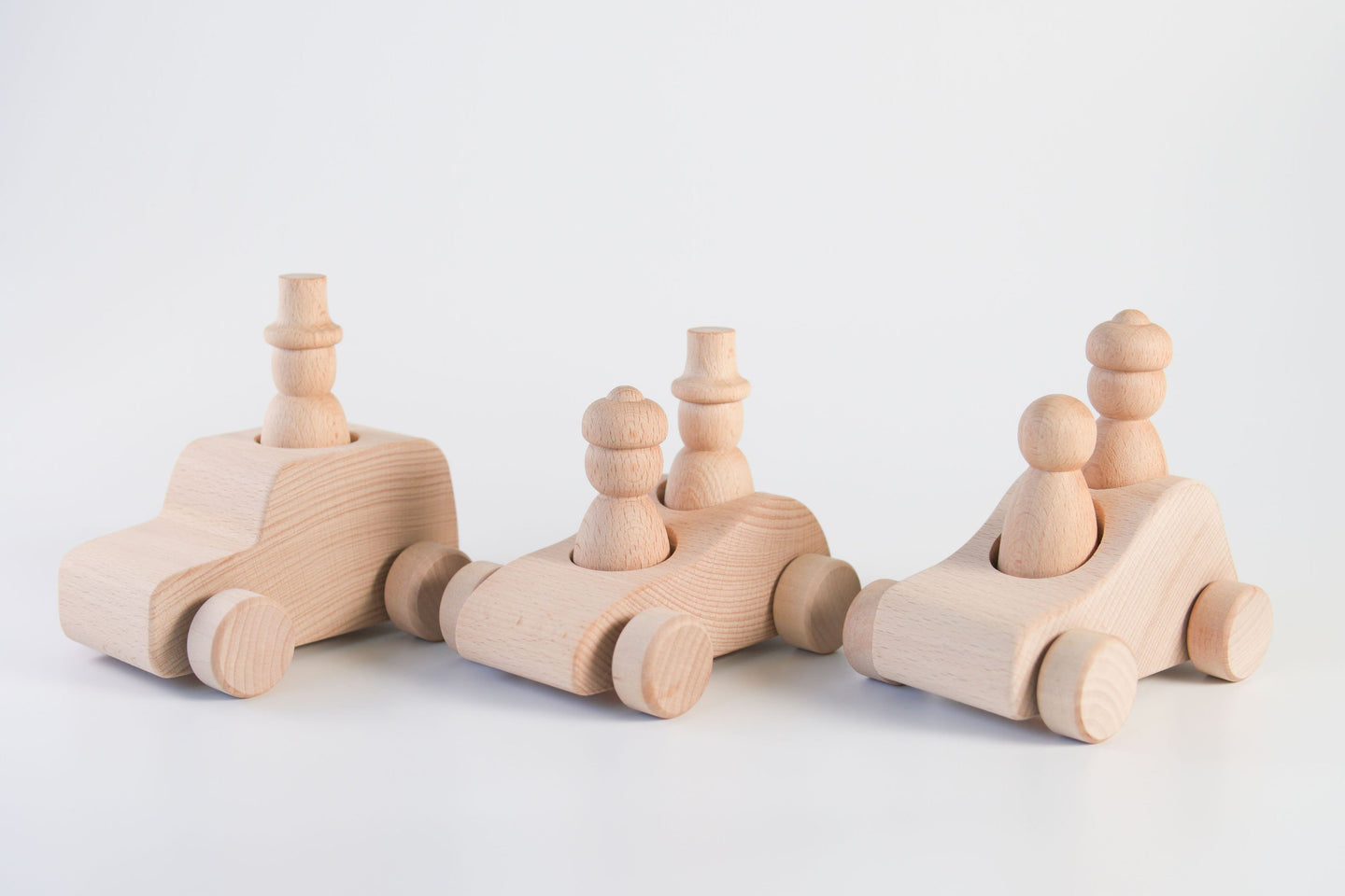 *INSTOCK* Wooden Cars Set