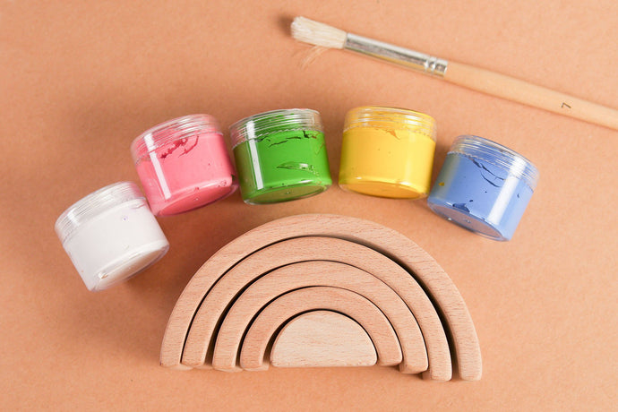 Mini Rainbow Painting Kit - Pastel