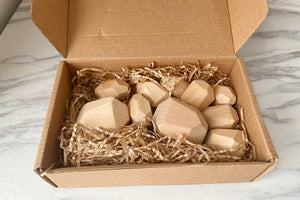 *New In* Stacking Stones Set - Raw