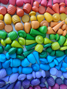 *INSTOCK* Rainbow Loose Parts