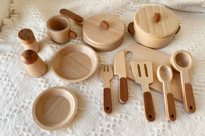 *Back in Stock* Wooden Cookery Set 2020