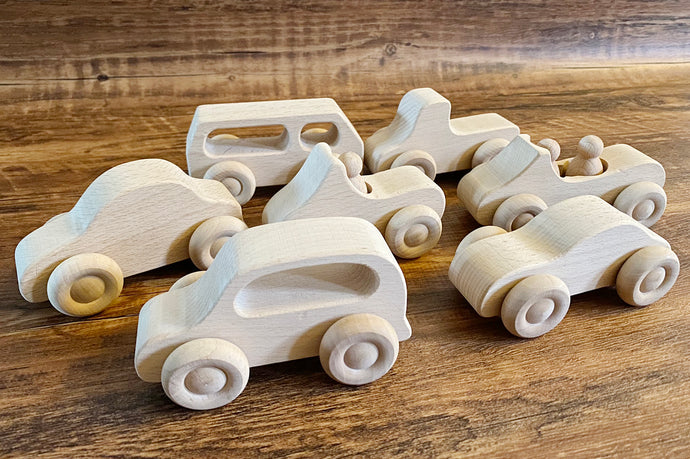 *NEW* Set of 7 Skinny Cars