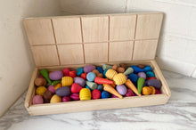 Load image into Gallery viewer, Coloured Loose Parts Set - Half Set