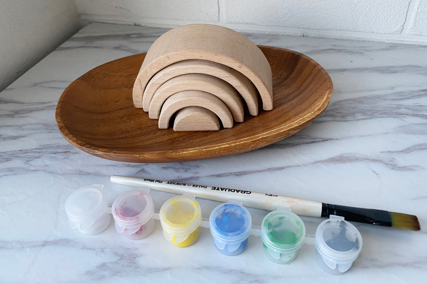 *READY-STOCK* Mini Rainbow Painting Kit - Sample Size