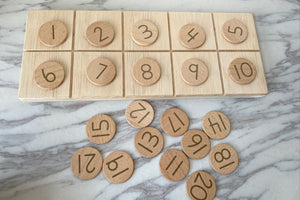 Alphabet & Number Dots