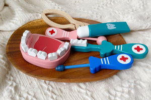Dental Fun Wooden Toy Set