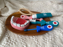 Load image into Gallery viewer, Dental Fun Wooden Toy Set