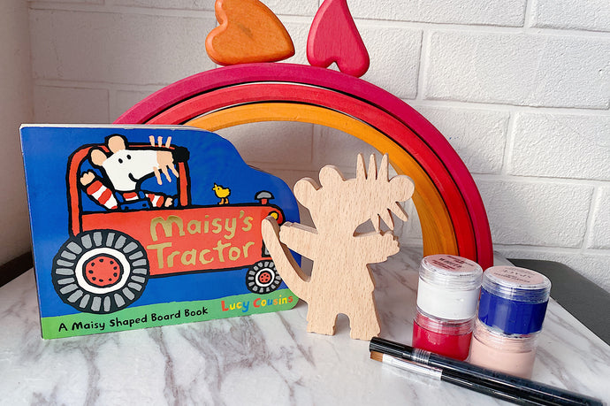 *NEW-IN* Maisy's Tractor Book Kit