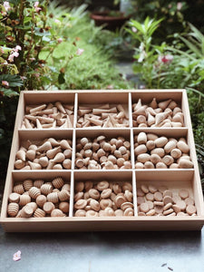 *INSTOCKS* Raw Loose Parts Set - 324 Pieces