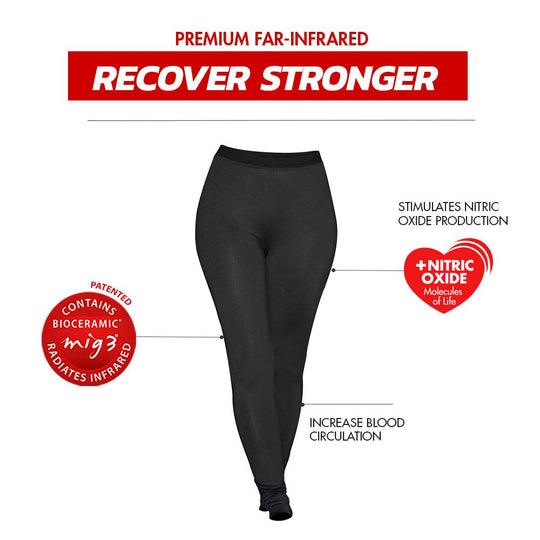 Invel®  Therapeutic Basic Legging with Bioceramic MIG3® Far-Infrared Technology - Cellulite Treatment invel far-infrared