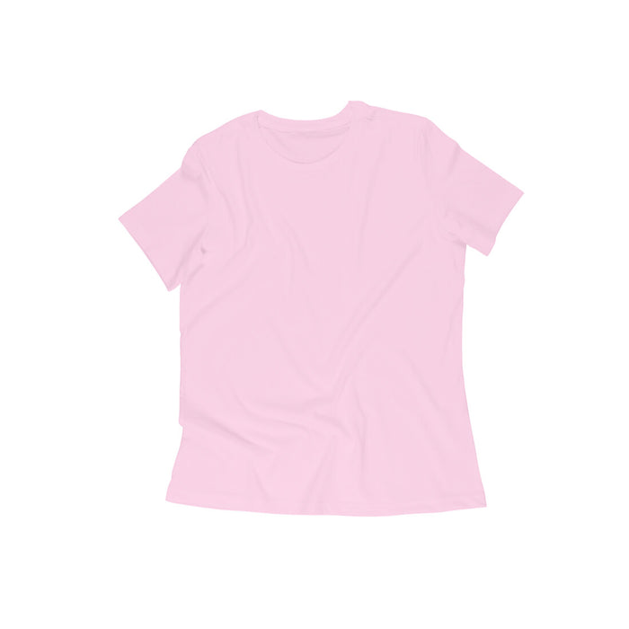 Women's Half Sleeve Round Neck Plain T-Shirt