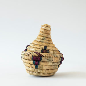 Moroccan Basket-Small Natural