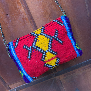 Vintage Rug Purse-Primary Fun