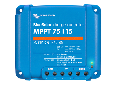 Victron SmartSolar 15A 75V MPPT Solar Charge Controller - TR Off Grid