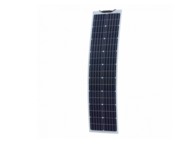 170W narrow semi-flexible solar panel for boats, caravans, motorhomes, RV's , etc (made in Austria)