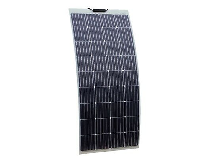 150W Semi-Flexible solar panel with self adhesive backing for boats, caravans, etc (made in Austria)