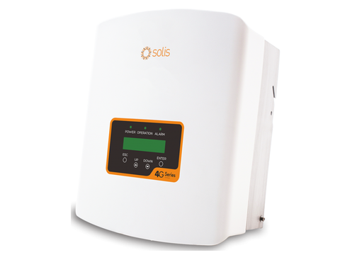 Solis Solar Inverter 1.5kW Mini 5G Single Tracker with DC isolator