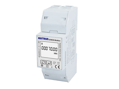 Energy Meter SDM230 single-phase Modbus for Solax X1 100A
