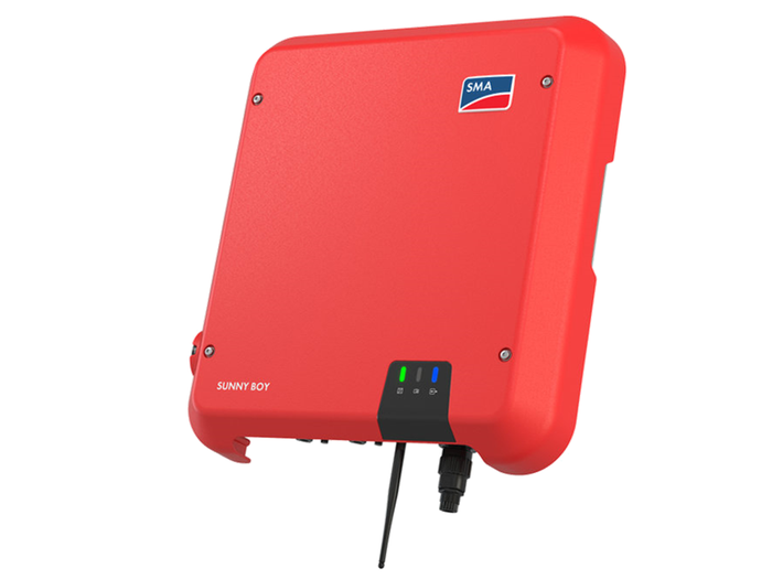 Sunny Boy 4kW Solar Inverter - Single Phase - 2 MPPT with Smart Connect